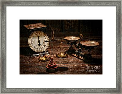 Scales Framed Print by Olivier Le Queinec
