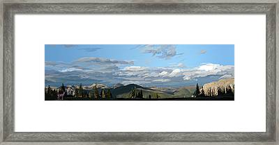 Scapegoat Panorama Framed Print