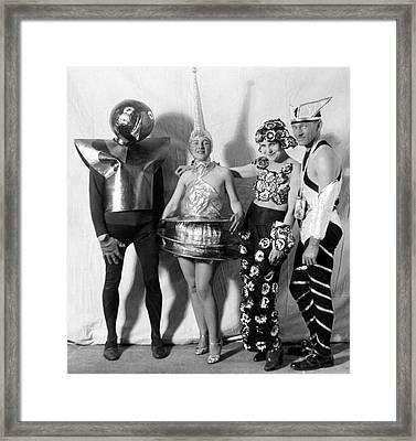 Scarab Club Ball Framed Print by Underwood Archives