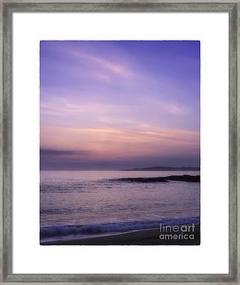 Scarasta Sunset No2 Framed Print by George Hodlin