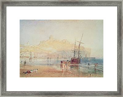Scarborough, 1825 Framed Print by Joseph Mallord William Turner