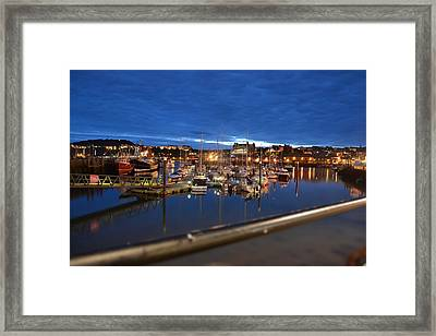 Scarborough Bay Framed Print by Dave Woodbridge