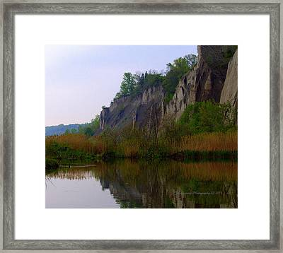 Scarborough Bluffs Framed Print