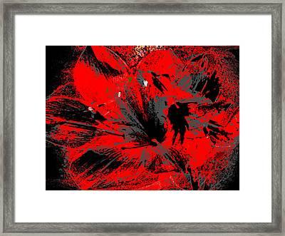 Scarborough Splash Framed Print by Stephanie Grant