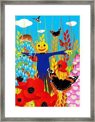 Scarecrow Framed Print by Neil Finnemore
