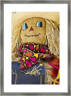 Scarecrow Framed Print by Tim Hightower