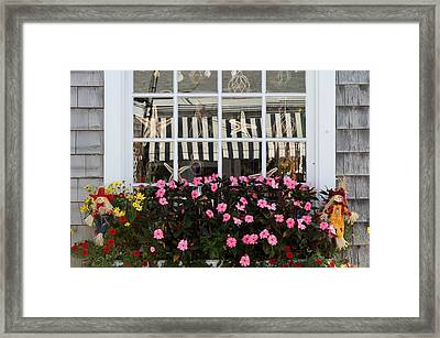Scarecrows On Martha's Vineyard  Framed Print by Juergen Roth