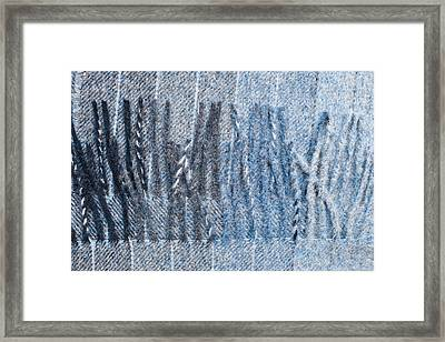 Scarf Framed Print