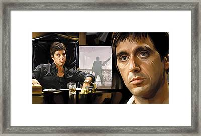 Scarface Artwork 1 Framed Print