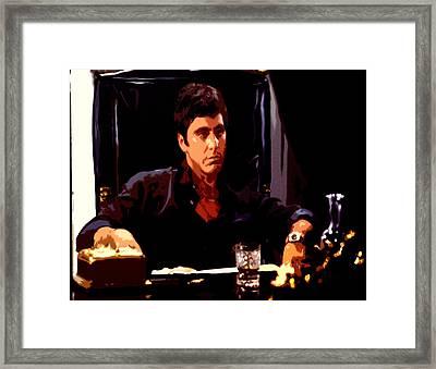 Scarface II Framed Print