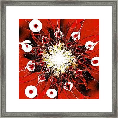Scarlet Framed Print by Anastasiya Malakhova