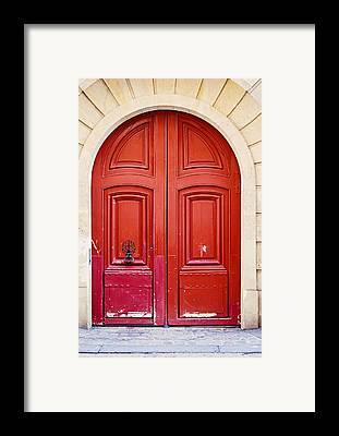 Door Knocker Framed Prints
