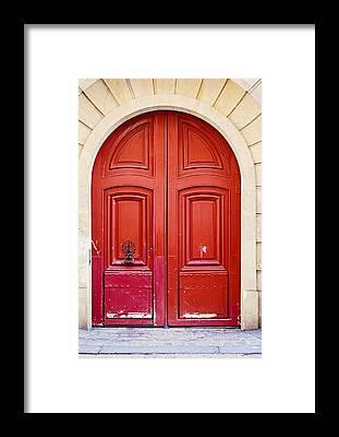 Door Knockers Framed Prints