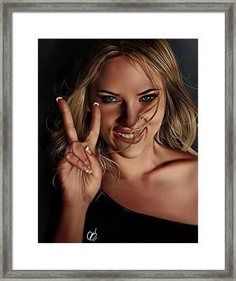 Scarlett Framed Print