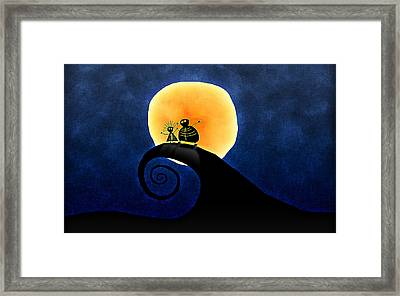 Scary Moonlight Framed Print by Gianfranco Weiss