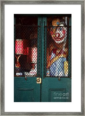 Scary Orleans Framed Print by John Rizzuto