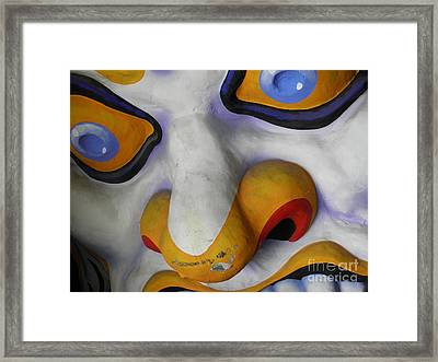 Framed Print featuring the photograph Scary by Valerie Reeves