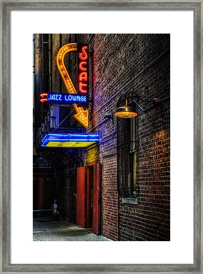 Scat Lounge Living Color Framed Print