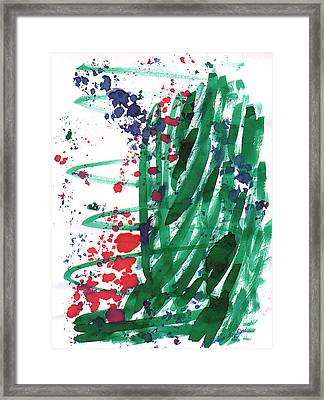 Scattered Love 05 Framed Print by Mirfarhad Moghimi