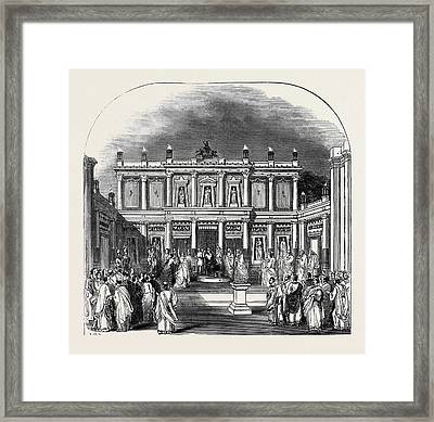Scene From Antigone Framed Print