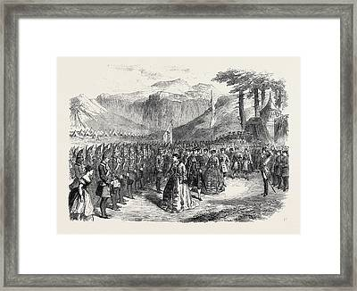 Scene From The Grand Duchess Of Gerolstein At The Royal Framed Print