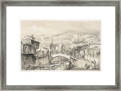 Scene In Madeira Framed Print by British Library