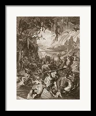Ferryman Framed Prints