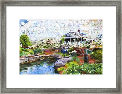 Scenery Series 01 Framed Print by Carlos Diaz