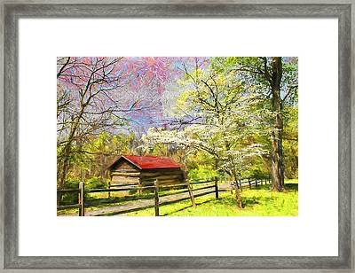 Scenery Series 02 Framed Print by Carlos Diaz