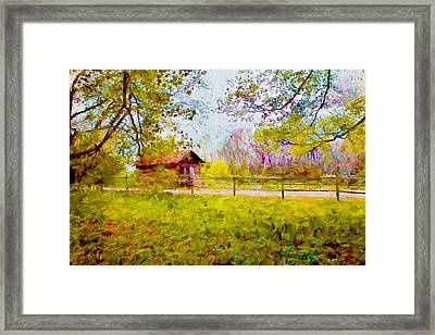 Scenery Series 03 Framed Print by Carlos Diaz