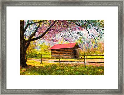 Scenery Series 04 Framed Print by Carlos Diaz