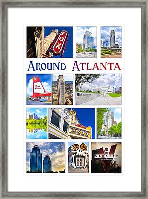 Scenes From Around Atlanta Framed Print