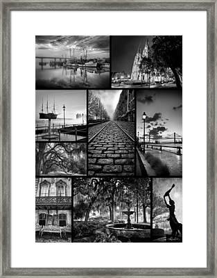 Scenes From Savannah Framed Print by Renee Sullivan