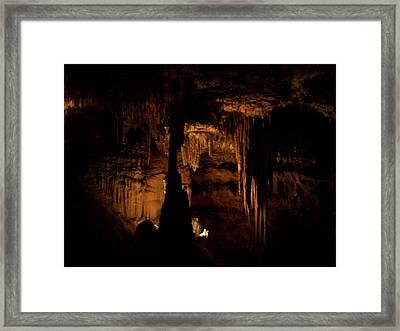 Scenic Cave Framed Print
