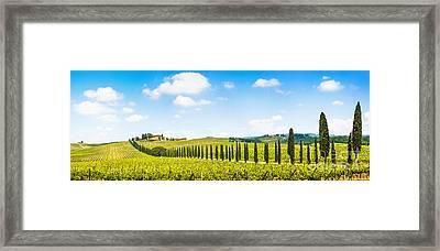 Scenic Italy Framed Print