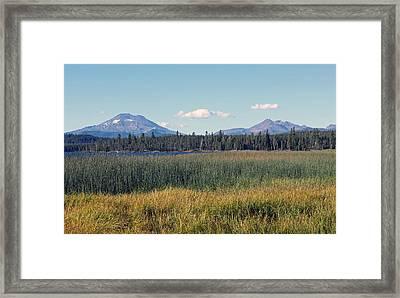 Scenic Framed Print by Kami McKeon