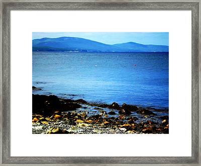 Scenic Maine Framed Print by Dancingfire Brenda Morrell