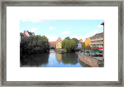 Framed Print featuring the photograph Scenic Nuremberg by Kay Gilley