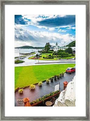 Scenic Oban Scotland Framed Print by Cliff C Morris Jr