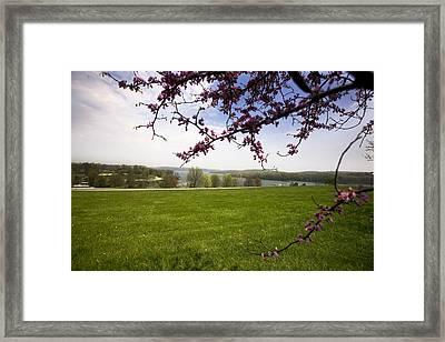 Scenic Park Framed Print by John Holloway