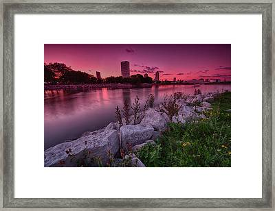 Scenic Sunset Framed Print