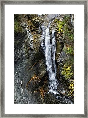 Scenic Taughannock Falls Framed Print