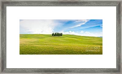 Scenic Tuscany Framed Print