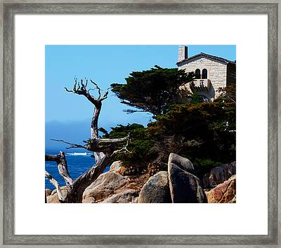 Scenic View Framed Print by Camille Lopez