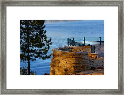 Scenic View Framed Print by Jp Grace