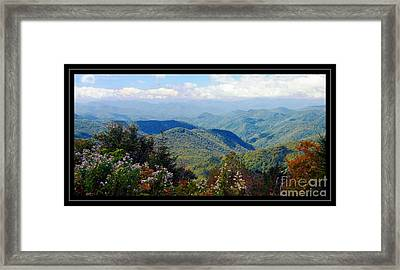 Scenic View Framed Print by Kathleen Struckle