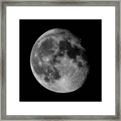Scenic View Of Full Moon Framed Print by Jens Mayer / Eyeem
