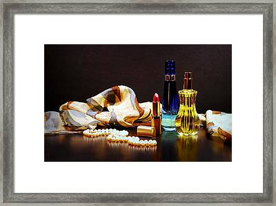Scent Of A Woman Framed Print