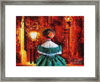 Scent Of A Woman Framed Print by Mo T
