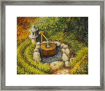 Scent Of Tranquility Framed Print by Kiril Stanchev